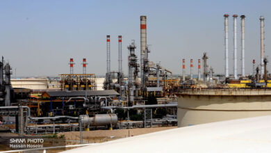Photo of Production Resumed at Tehran Oil Refinery